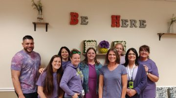 Advanced Health and Education - Wear Purple Day